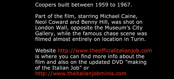 Part of the film, starring Michael Caine,