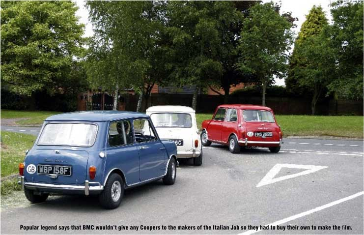 The Italian Job Replica Film Minis